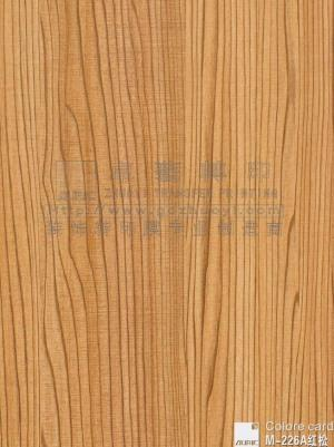 Wood Grain Transfer Film-m226a Red Pine